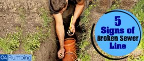 5 Signs To Look Out For A Broken Sewer Line