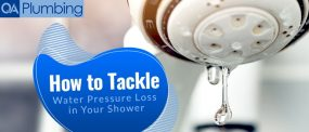 5 Ways to Tackle Water Pressure Loss in Your Shower