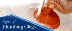 Types of Plumbing Clogs