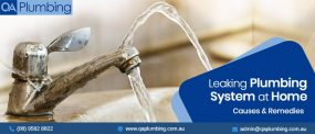 Causes for a Leaking Plumbing