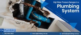 high water pressure damages in plumbing systems